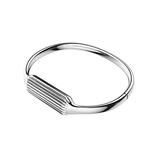 Fitbit Flex 2 Accessory Bangle Silver Small Amazon Ca Health