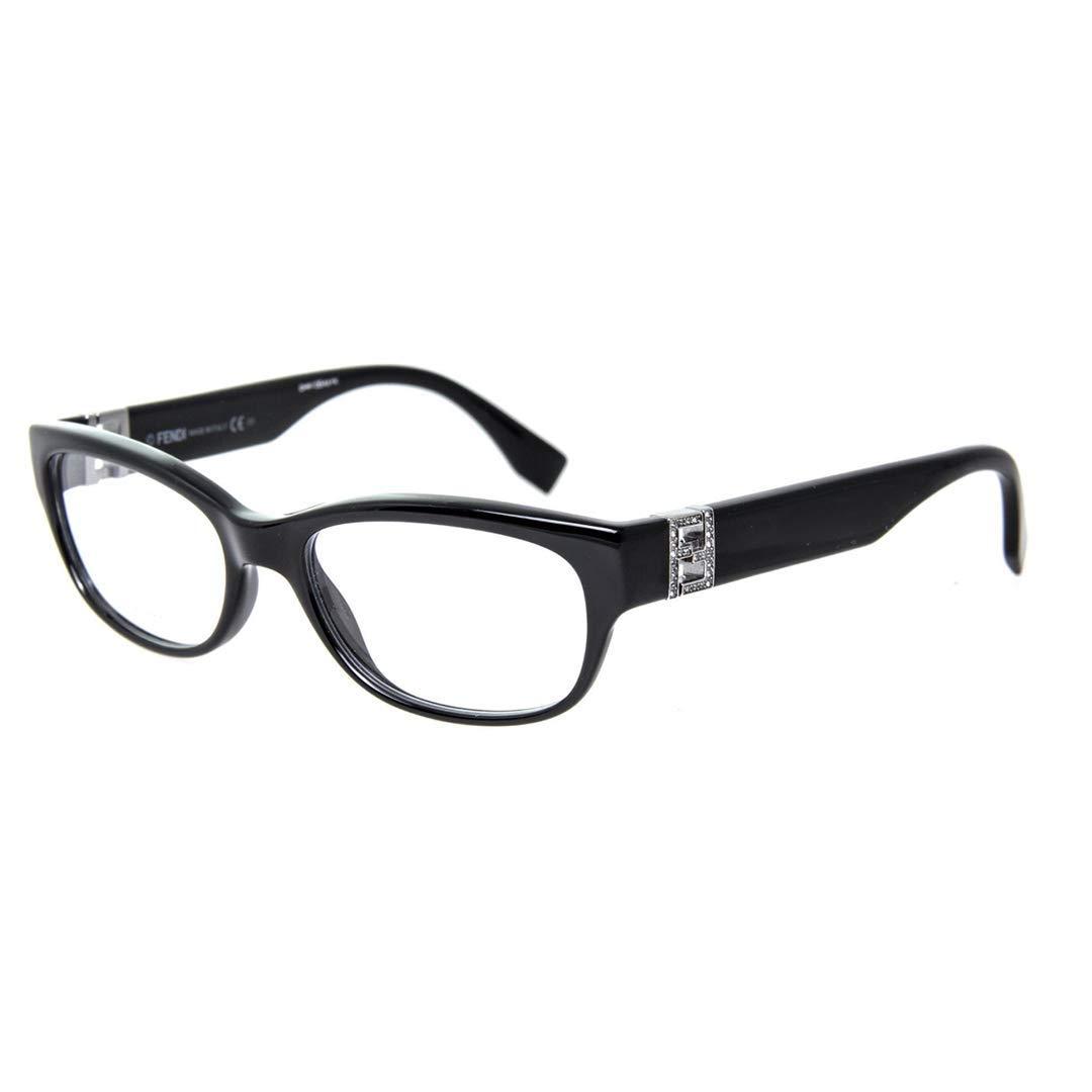 b387697172 Amazon.com  FENDI Eyeglasses 0048 0D28 Shiny Black 52MM  Shoes