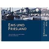 BinnenKarten Atlas 8 | Ems und Friesland: Wasserstraßen zwischen Emden, Hörstel und Bremen