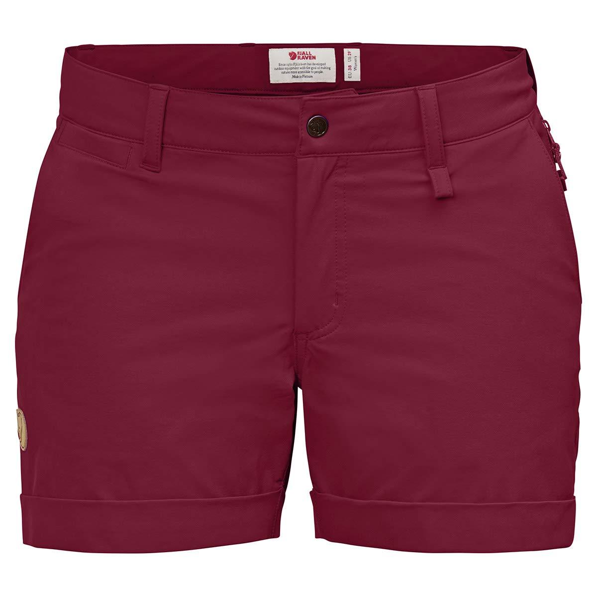 Plum Womens Abisko Stretch Shorts 44 Fjallraven
