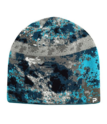 Pelagic Camo - Pelagic Coral Camo Reversible Beanie | Two-sided Ski Hat