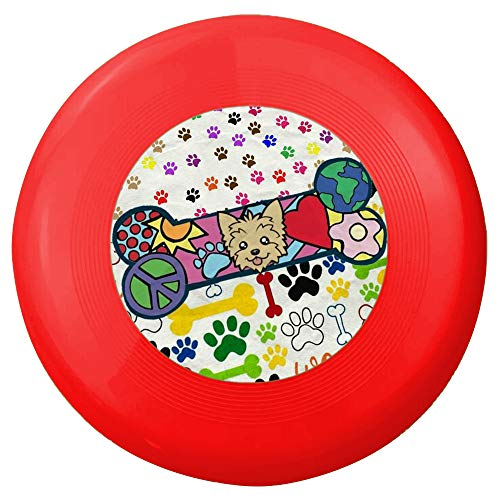 Dog Frisbee Toy, SReady Pet Training Rubber Flying Saucer Interactive Toys,Soft Natural Rubber Disk for Safety,Floating Water Dog Toy,Flying Disc Dog