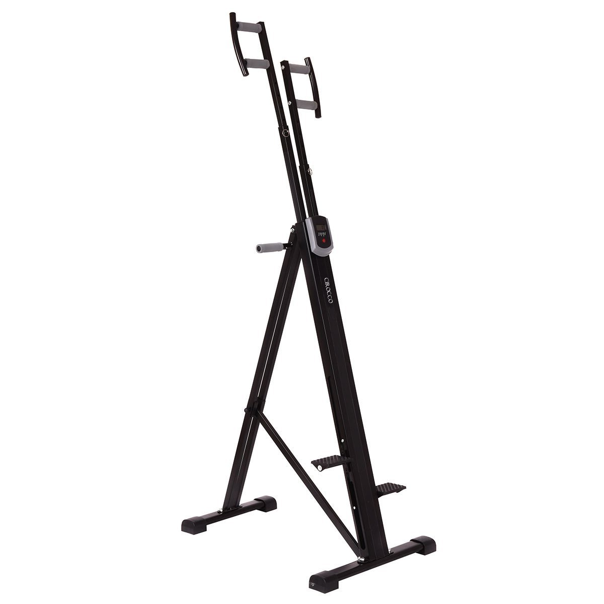 Cirocco Folding Stair Stepper Vertical Climber Exercise Cardio Machine w/ LCD Display | Strong Sturdy Total Full Body Aerobic Anaerobic Workout Fitness Equipment for Calorie Fat Burn Leg Bicep Triceps by Cirocco (Image #3)