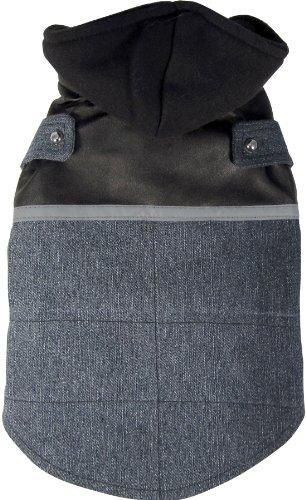 Lhasa Tank - Dogit Style Denim Dog Vest, Large, Blue/Black