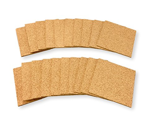 Cork Coasters - Set of 20 For business,Best Drink Coaster for Drinks in Office, Home, or Cottage -