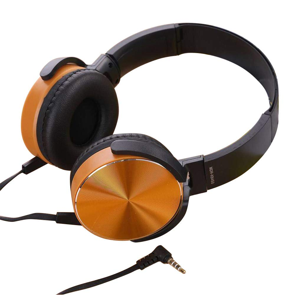 AxiBaStereo Gaming Headset for, Noise Cancelling Over Ear Headphones with, LED Light, Bass Surround