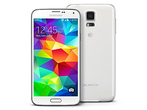Samsung Galaxy S5 G900A Unlocked Cellphone, 16GB, White (Unlock Phone Att)