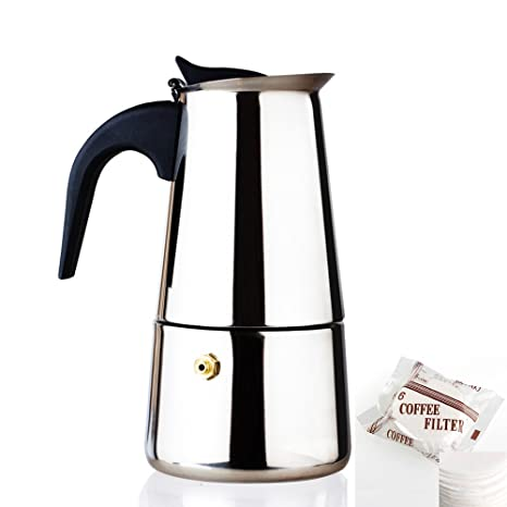 Amazon.com: Italian Coffee Maker Moka Express-Siduo CM0001 ...