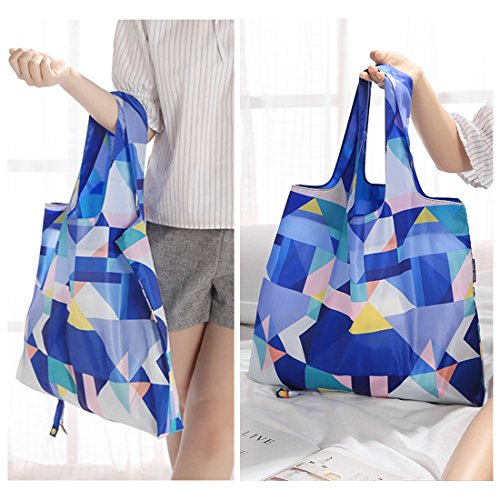 Reusable CARE Bags YUENA Waterproof Tote Shopping Grocery with Handle Bag xadqfId