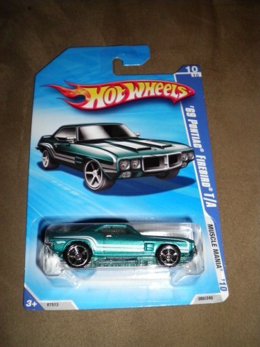 hot wheels 69 pontiac firebird - 4