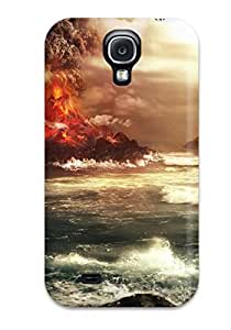 Case For Galaxy S4 With Nice Volcano Appearance 3007858K30489330