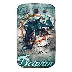 New Style Case Cover LxB571tTfO Miami Dolphins Compatible With Galaxy S3 Protection Case
