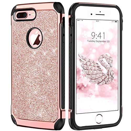 iPhone 7 Plus Case, iPhone 8 Plus Case DUEDUE Protective Dua