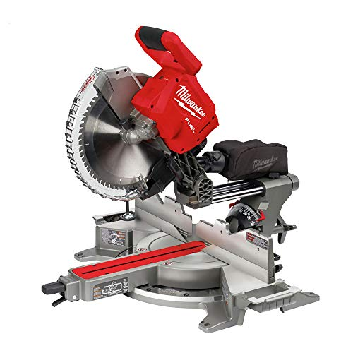 Milwaukee M18 FUEL 18-Volt Lithium-Ion Brushless Cordless 12 in. Dual Bevel Sliding Compound Miter Saw (Tool-Only)