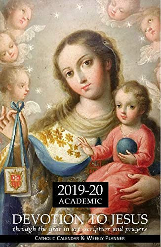 2017 Devotion to Jesus Through the Year in Art, Scripture, and Prayers: Catholic Calendar and Weekly Planner (Black Spiral)