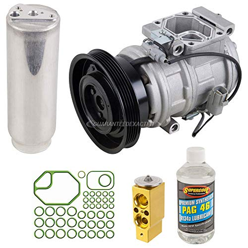 AC Compressor w/A/C Repair Kit For Toyota Camry Celica Solara - BuyAutoParts 60-80128RK New