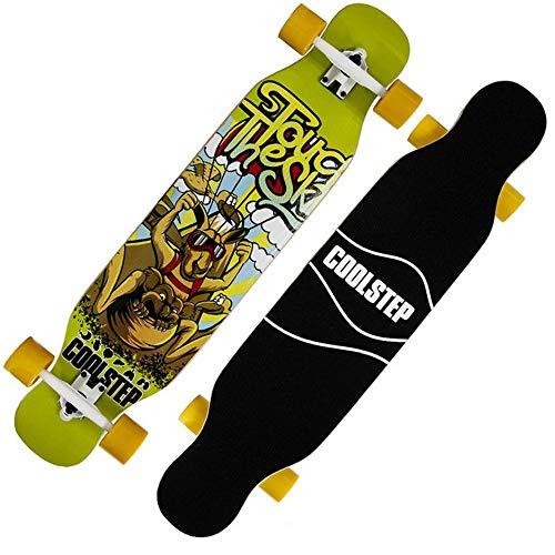 BeTyd Cool Skateboard Durable 1pc 2019 New 107 23cm Long Board 70 51mm 78A Wheel Dancing Board-F