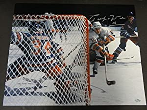Pat LaFontaine Islanders Signed 16x20 Photo Autographed Signature - Steiner Certified