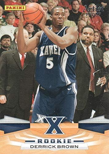 [해외]2009-10 Panini Basketball Artist Proof 338 Derrick Brown 066199 Musketeers / 2009-10 Panini Basketball Artist Proof 338 Derrick Brown 066199 Musketeers