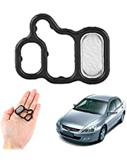 Suuonee Gasket Filter,Variable Timing Solenoid Gasket Spool Valve Filter for Accord CRV Element Acura