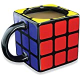 I-Choice Rubiks Cube 3D Mug Office Ceramic Funny Mug for Water, Coffee, Tea or Milk (Black)