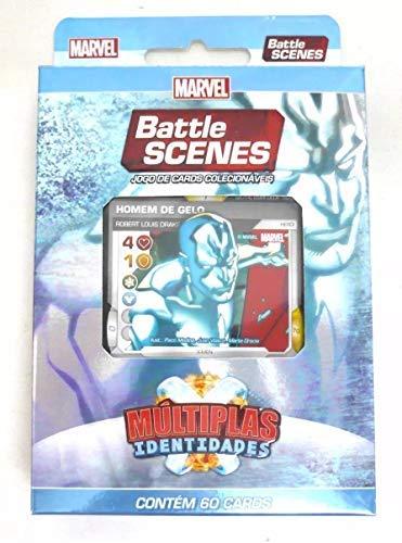 Jogo De Cartas Colecionáveis Marvel Parede De Plasma 60cards
