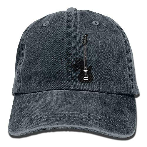 JHDHVRFRr Cowgirl Cowboy Sport Hat Cap Skull Denim Hats for Guitar Women Men Music ScdnSCq0rw