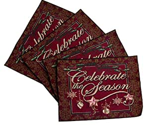 Celebrate the Season Placemats Set of 4