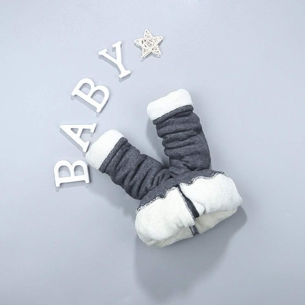 Lenfesh Kinder Baby Hose Winterhose Fleecehose M/ädchen Jungen Cartoon L/ächeln Kaninchen Dicke Warme Sporthose Hose Hosen Kleidung