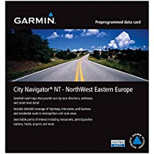 Garmin City Navigator Eastern Europe NT for Detailed Maps of Poland, Czech, Slovakia, Hungary, Austria, Slovenia, and Croatia (microSD/SD Card)