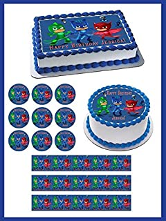 PJ Masks (Nr5) - Edible Cupcake Toppers - 2