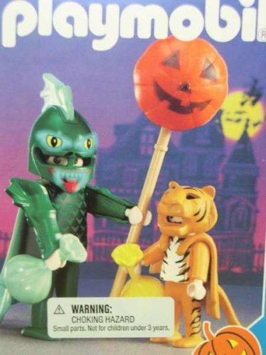 Playmobil 3026 Dragon and Tiger Halloween Set (Halloween Set Playmobil)