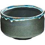 Matcha bowl Japanese tea cup for tea ceremony, KurohakuryuMacha style