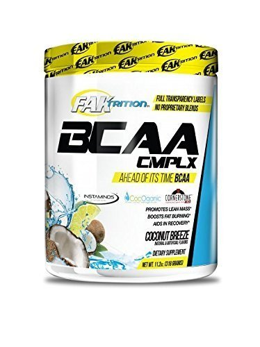 Faktrition BCAA Complex Coconut Breeze 30 Servings