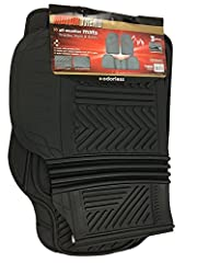 Motor Trend mats are manufactured with the highest quality and safest material. means you and your family don't need to worry about toxins and odors that other rubber mats emit. These Motor Trend licensed products give your floor All-Weather ...
