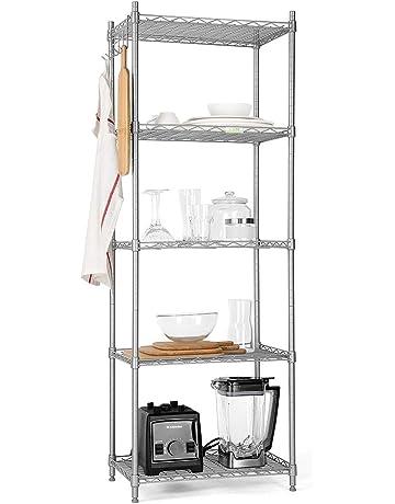 Mensole A Parete Regolabili In Altezza.Mensole Immagazzinamento Per Garage Amazon It
