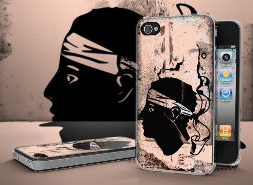 Master Case - Coque iPhone 4/4S Drapeau Grunge - Corse