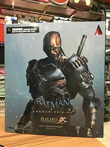 VIET FG Square ENIX Play Arts Kai DC Comics Batman: Arkham Origins Deathstroke PVC Action Figure Collectible Model Toy 27cm- Gift for Your -