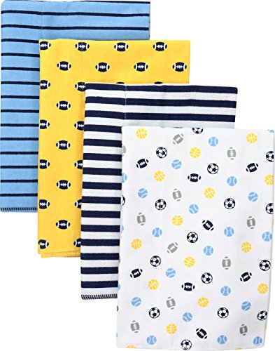 gerber-baby-4-pack-flannel-burp-cloth-multi-sport-one-size