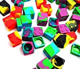 Gentcy 11ml 5Pcs Silicone Container Concentrate Storage Square Silicone Jar $1.79/pcs