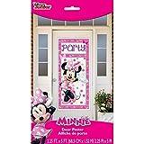 """Plastic Minnie Mouse Door Poster, 60"""" x 27"""""""