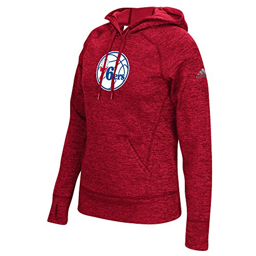 NBA Philadelphia 76ers Women's Team Logo Fleece Pullover Hoodie, Medium, (Team Pride Fleece)