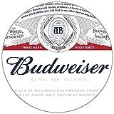 Trademark Gameroom Budweiser Chrome Padded Bar