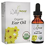 Wally's Natural Products Organic Ear Oil - Unique Blend, Smooth, Anti Inflammatory, 1 Fl. Oz. Essential Oil. Health Care Products