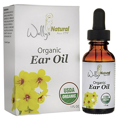 (Wally's Natural Products Organic Ear Oil - Unique Blend, Smooth, Anti Inflammatory, 1 Fl. Oz. Essential Oil. Health Care Products)