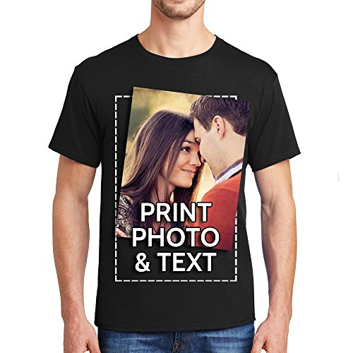 Customized Tee Shirts Add Your Own Text Print Personalized Funny T-Shirt - Your Customize