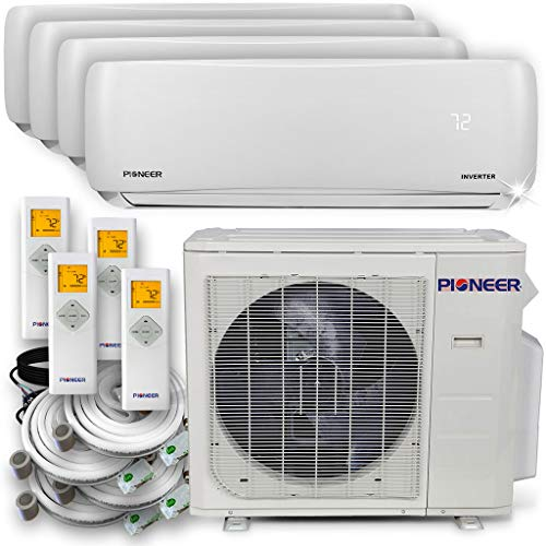 PIONEER Air Conditioner Pioneer Multi Split Heat Pump, Quad (4 Zone) (Cost Of 4 Ton Heat Pump Installed)