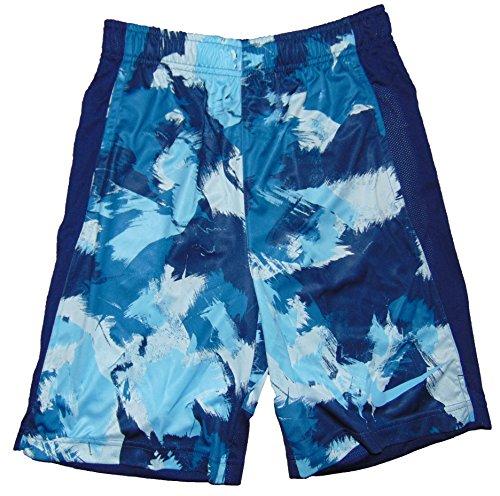 Bike Boy's Dri Fit Legacy Running Shorts Small Blue (Nike Bicycle Shorts)