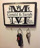 Personalized-Wedding-Gift-Monogram-Key-Holder-Awesome-for-Engagement-Gift-Bridal-shower-Couples-Gift-Housewarming-Wedding-gift-idea