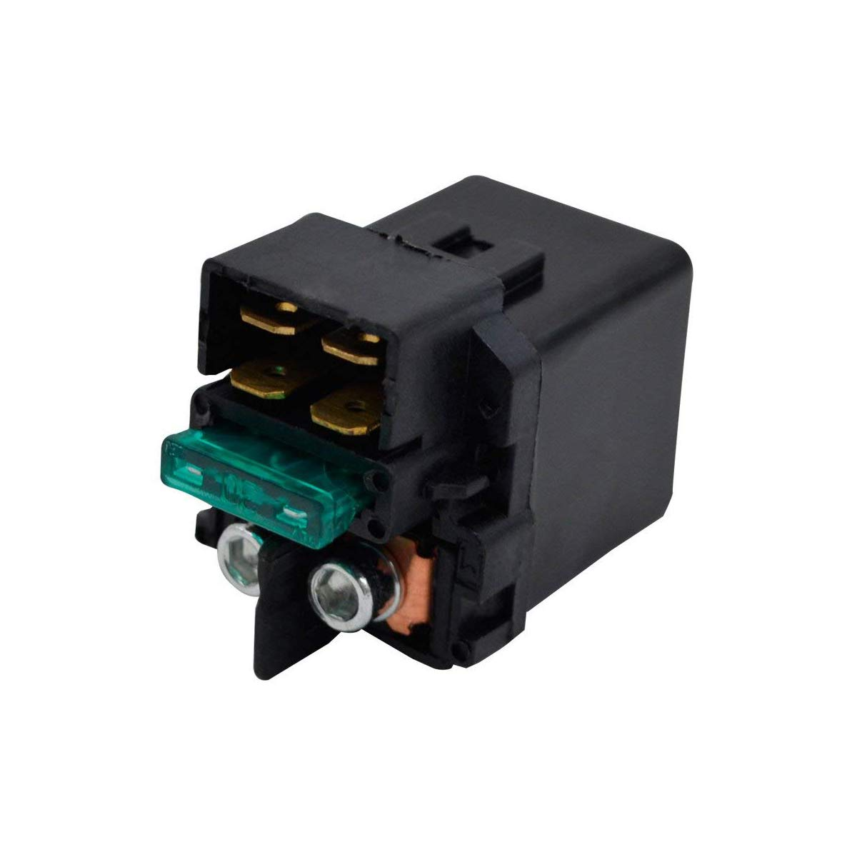 Amhousejoy Starter Solenoid Relay Fits for Kawasaki Brute Force 650 KVF650 D E 4X4 2005-2013 ATV